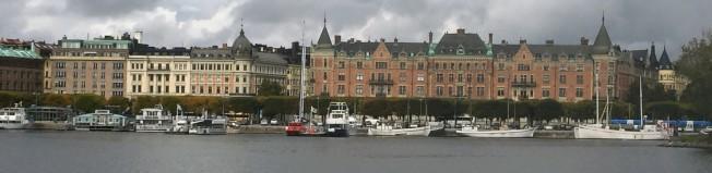 斯德哥爾摩海灣景色。(圖:作者提供)