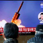 北韩沉寂1周后 再发射3枚不明飞行物