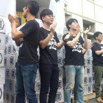 罷免韓國瑜送40萬連署書 挺韓民眾舉旗