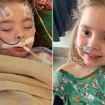 奇蹟!流感併發症失明 愛阿華州女童張開眼睛微笑了