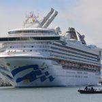 「至尊公主號」首批撤離23人  轉泊奧克蘭岸  3500人將分批送出