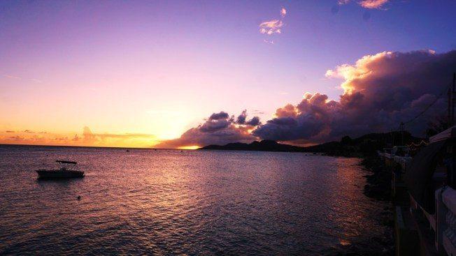 别克斯岛萤光湾船 游赏蓝光