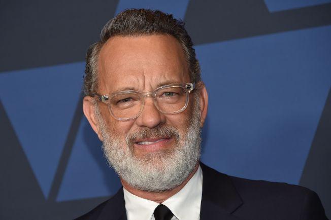 美國影帝湯姆漢克斯(Tom Hanks)11日晚間在社交媒體上公布了確診新冠肺炎的消息。(Getty Images)