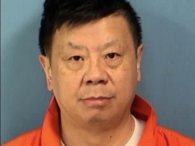 55歲的王亞倫活活踢死妻子楊紅豔。(杜佩琪郡檢察官辦公室)