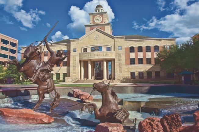 糖城列德州最佳企業環境之一。(市府網頁)