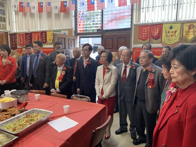 羅省至德三德公所日前舉辦祭祖春宴。(記者高梓原╱攝影)