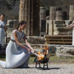 希臘停辦東京奧運聖火接力