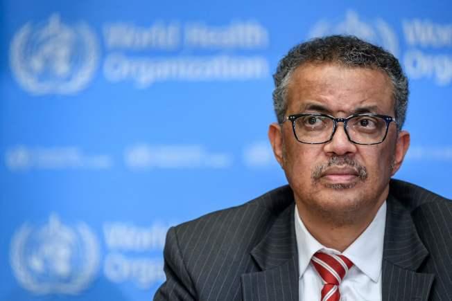 世衛秘書長譚德塞稱新冠肺炎造成的死亡和確診,是一個悲痛的里程碑。(Getty Images)