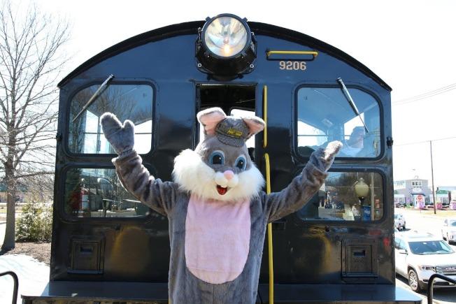 佛雷明頓市兔子列車。(臉書官網)