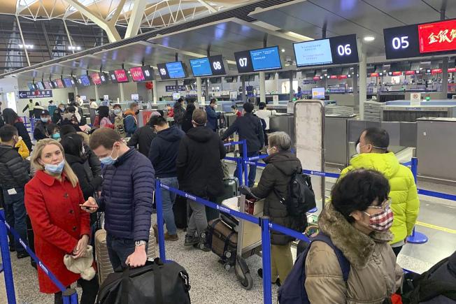 你永遠不會知道所在或將要前往的城市何時被封鎖,航班被取消或旅客被隔離。(美聯社)