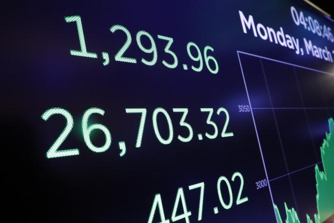 在股市遭到急劇拋售之後,市場之後可能會出現大幅反彈。(美聯社)