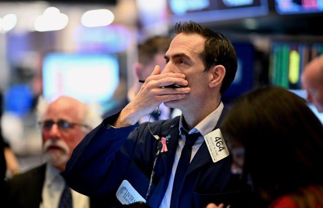 即使聯準會(Fed)採取大規模貨幣刺激政策以遏制新型冠狀病毒爆發導致經濟成長放緩,美國股市仍大幅下跌。Getty Images