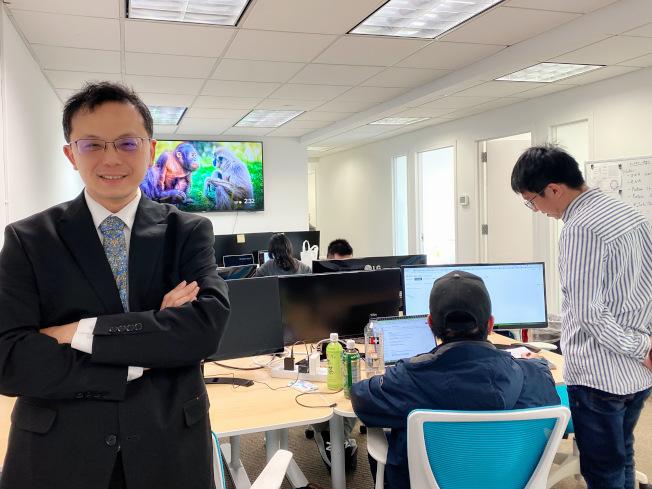 圖策智能科技(Graphen, Inc.)創辦人兼執行長林清詠博士。(熊傳慧/攝影)
