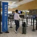 疫情緊張 航班大縮 全國機場安檢人數銳減
