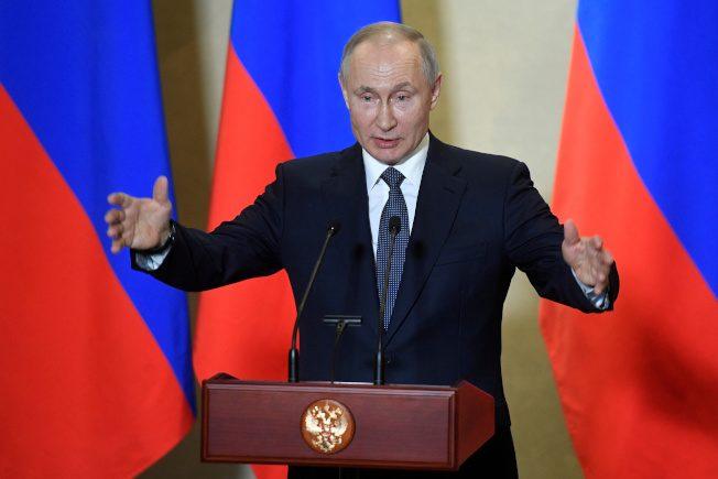 当了4届总统、2届总理…普亭否认像沙皇 自认勤政爱民