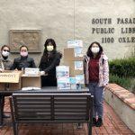 南加華人募捐口罩 贈本地醫院