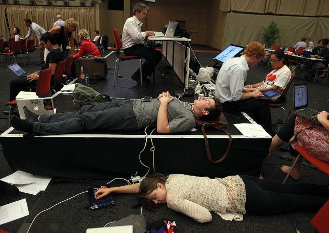 嚴重的身心俱疲,可能是免疫系統出問題。(Getty Images)