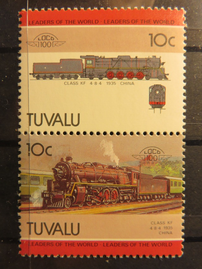 1940年代在中國使用的蒸汽機車,現在只能在火車博物館裡看到。(圖:作者提供)