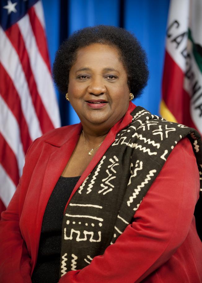 加州眾議員維波( Shirley Weber)等多位民主黨議員,推出SCA5提案的翻版ACA5提案。(本報檔案照)