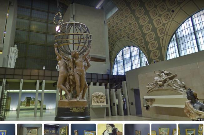 Google Arts & Culture有多座美術館、博物館的實境畫面。(取材自Google Arts & Culture)