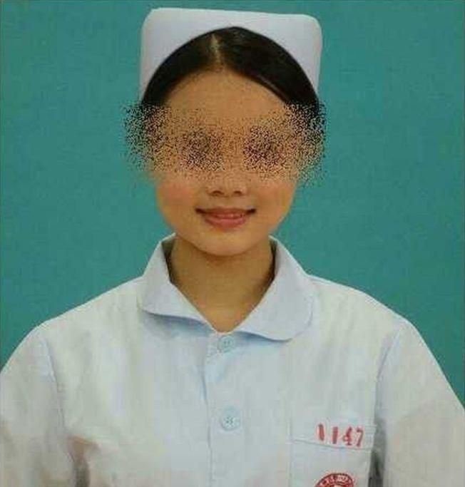 網傳殺人的女護士。(取材自微博)