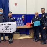警局也缺防護用具 亞裔社團慨捐救急