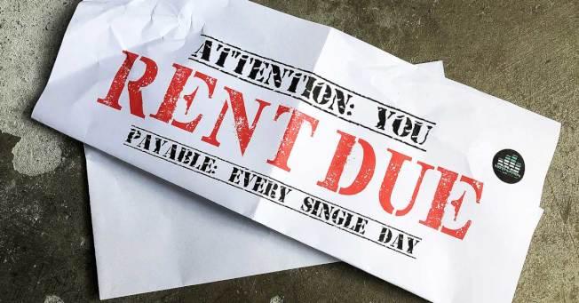 調查顯示,若經濟衰退,三成美國人擔心付不出房貸或房租,住處難保。 (取材自推特)