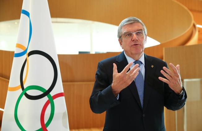國際奧林匹克委員會主席巴赫表示,東京奧運延後舉行,需要各方「做出犧牲和妥協」才能加以安排。(美聯社)