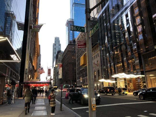 曼哈頓2月空屋率達七個月來最低。(記者顏嘉瑩/攝影)
