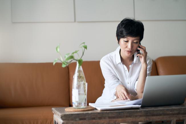 是否能在家工作要視工作性質和個人狀況而定。(Getty Images)