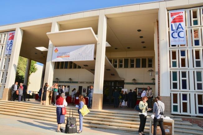 洛杉磯社區學院從下周起全面線上教學。(記者丁曙/攝影)