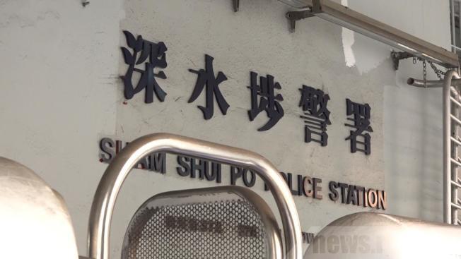 一名駐守深水埗警署的22歲女警員初步確診新型冠狀病毒。(取材自香港電台)