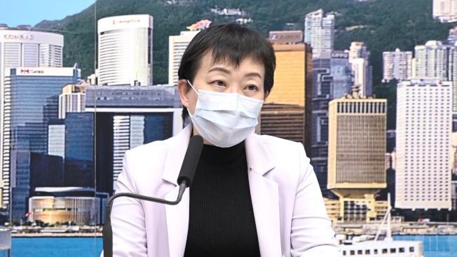 張竹君呼籲到過酒吧而有不適的人士盡快求醫。(取材自香港電台)