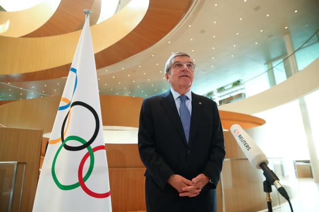 東京奧運的延期,已經讓巴赫傷透腦筋。(歐新社)