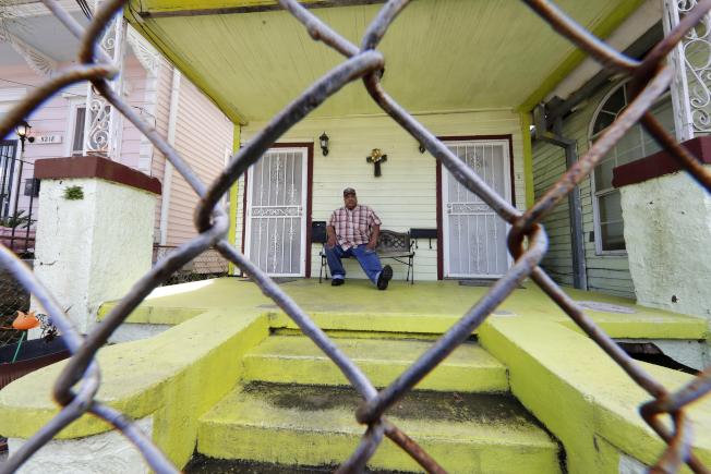 紐奧良疫情嚴重,經濟蕭條,形同全城失業。(Getty Images)