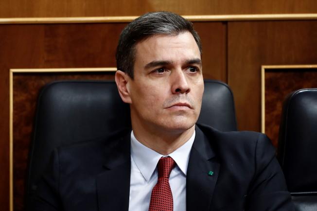 西班牙總理桑傑士。(歐新社)