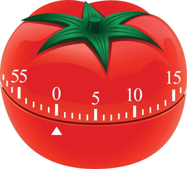 番茄鐘(示意圖)原本是廚房用番茄形計時器,研發出的時間管理法沿用至今。圖/ingimage 提供