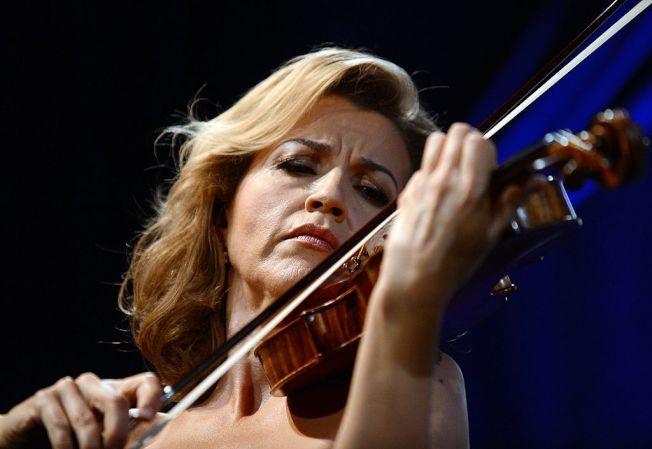 德國「小提琴女神」安-蘇菲.慕特(Anne-Sophie Mutter)。(Getty Images)