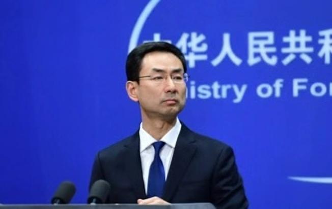 中國外交部發言人耿爽。(圖/取自中國外交部網站)