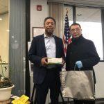 新州華人共同抗疫 郵寄捐款、捐物資