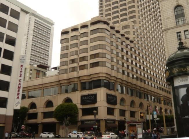 34--一對年輕亞裔男女被發現在Parc 55旅館房間內中槍死亡。(檔案照片)