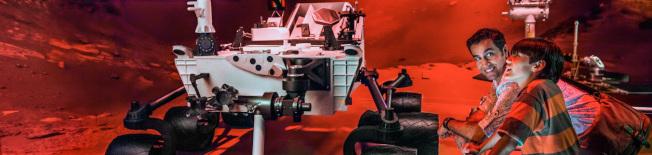 甘迺迪太空中心提供的教育資源之一,火星漫遊者英雄之旅(Journey-To-Mars-Rover-hero。(取自甘迺迪太空中心網頁)