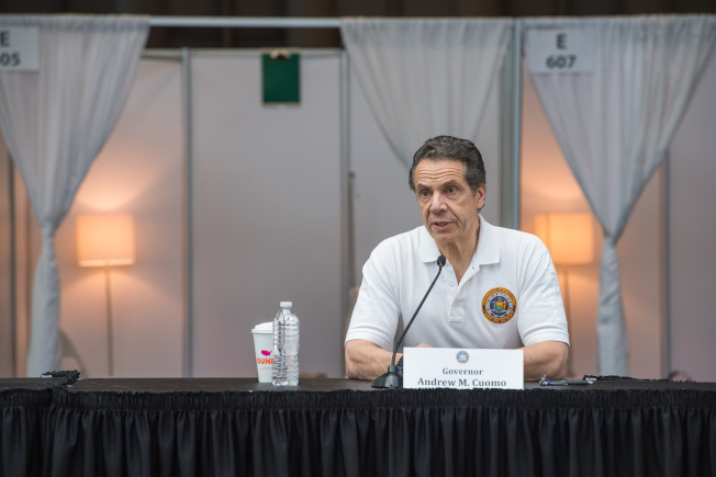 葛謨表示紐約州衛生廳已開始進行新冠病毒抗體研究。(州長辦公室提供)