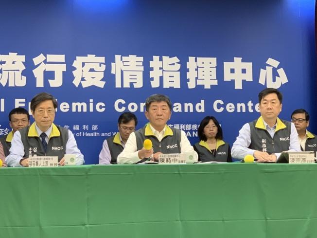中央流行疫情指揮中心指揮官陳時中說,他相信後續自有公斷。記者陳雨鑫/攝影
