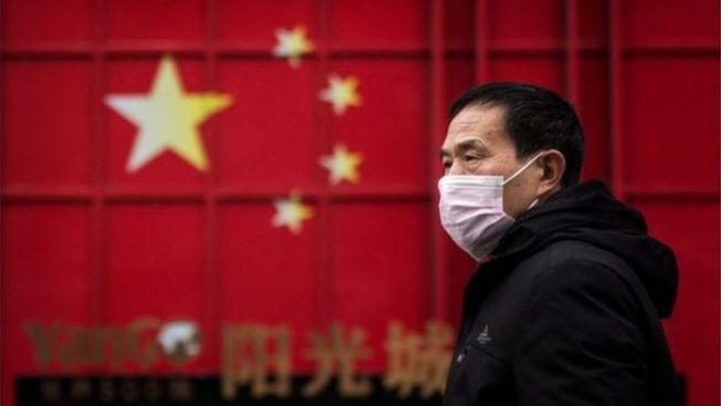 BBC分析,北京當局正藉「口罩外交」挽回隱瞞疫情後崩壞的「大國形象」。(Getty Images)