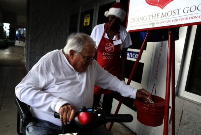 疫情當頭,聯邦政府鼓勵慈善捐款。(Getty Images)