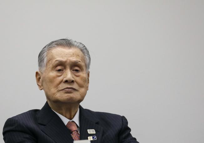 東京奧運組織委員會主席森喜朗表示,東奧不可能在2021春天舉行,預計在6至9月舉辦。(歐新社)