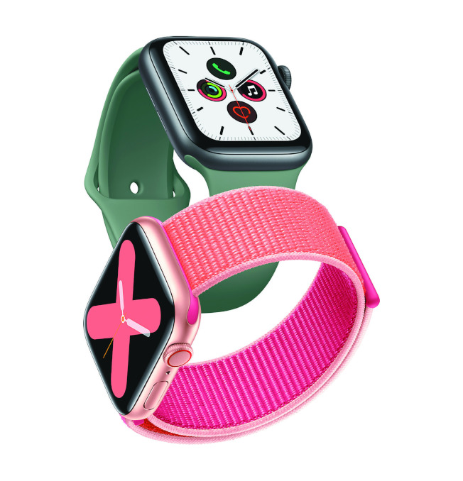 Apple Watch Series 5。(取材自蘋果)