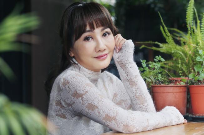王宥忻分享「嘴巴甜一點,路就寬一點」訣竅。(記者林俊良/攝影)