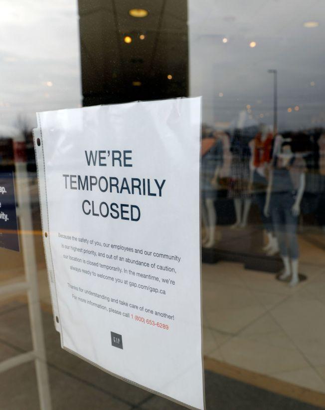 受疫情影響,全美許多企業和商店停擺,騶然增加數以百萬計的失業者。(Getty Images)